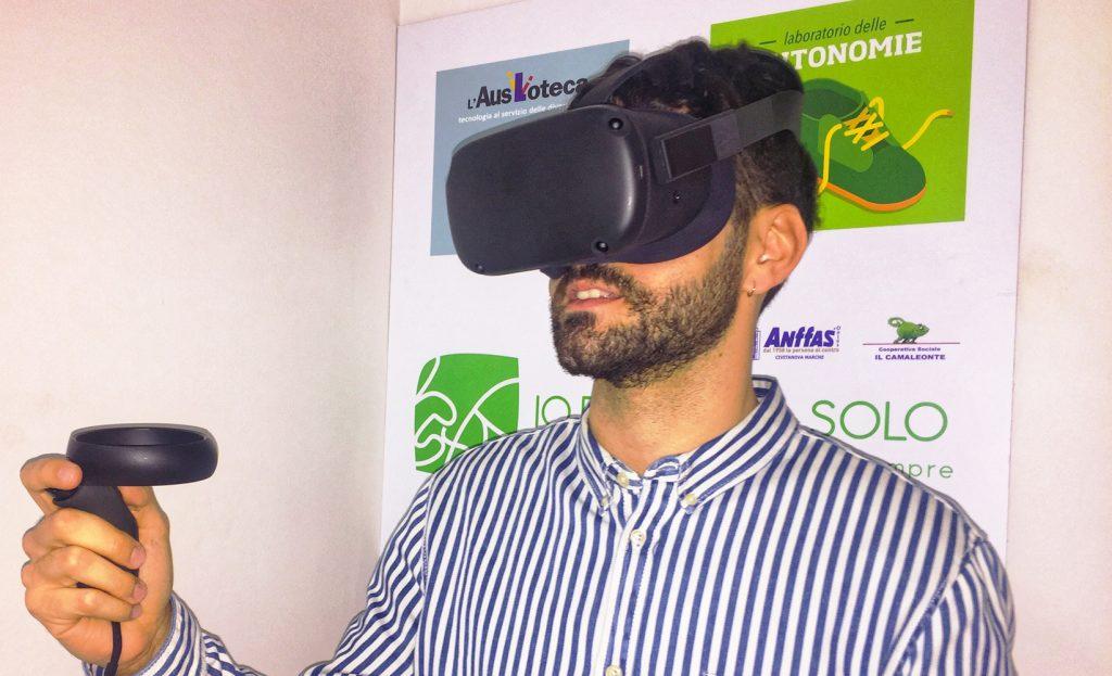 Tecnologie per disabili: la realtà virtuale entra nei nostri laboratori